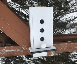 Solar Powered NodeMCU Weather Station