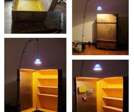 kipple kabinet (rolling art supply cabinet)