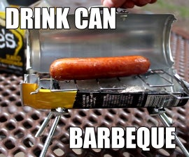 How To Make The Bitty-Q - (A Drink-Can BBQ) #Mikehacks