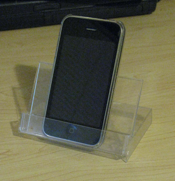 The Easiest, and Best IPhone / IPod Touch Stand