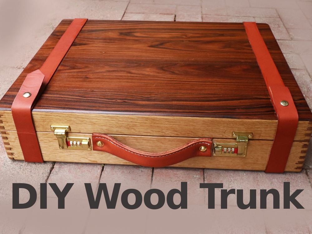 Picture of Awesome Wooden Trunk W/ Rosewood for Camera Gear