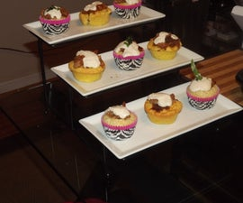 """BBQ"" Cupcakes: a Salute to My Baby Girl!!"