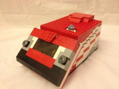 Starspeeder 1000 Made of Lego