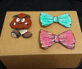 Cardboard BowTie