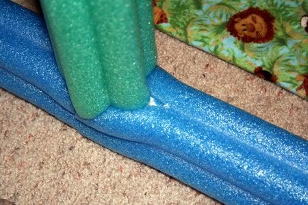Cut the PVC Pipe and Foam