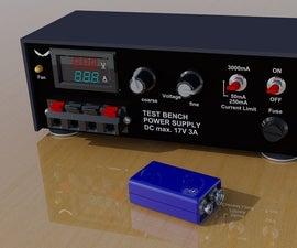 Easy DIY Variable Power Supply