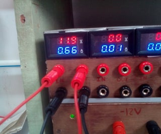Dc Voltage Current Meter