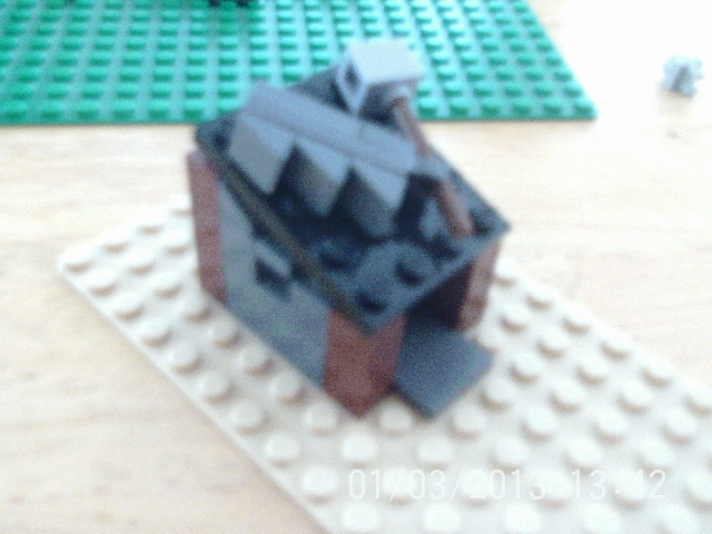 Picture of Lego Clash of Clans Builders Hut!!