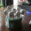 Tooth Cake pops!