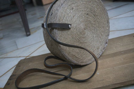 Jute and Paper Tote Bag ( Theme: Orbit of Planets)
