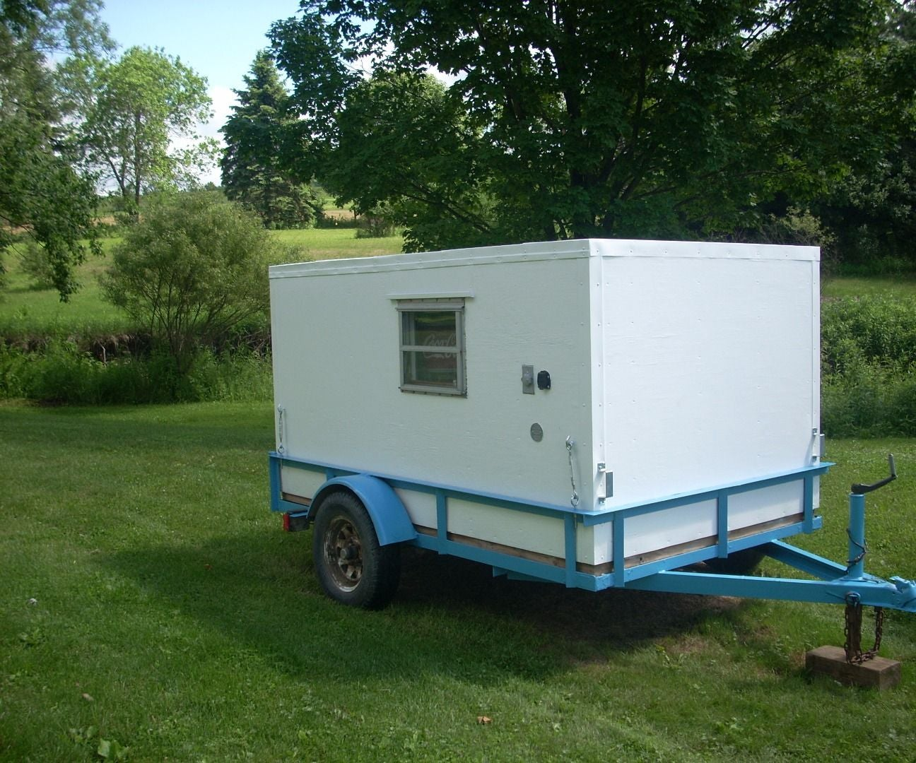 Diy Micro Camper 13 Steps With Pictures Instructables