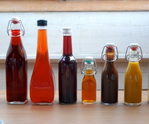 Fruit Infused Vinegar Variations