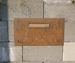 Mailbox in Wall