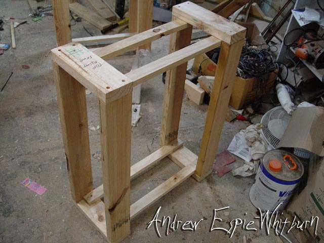 Picture of Step 8. - Cut Out Wood Stand Wood & Assemble Wood Support Stands