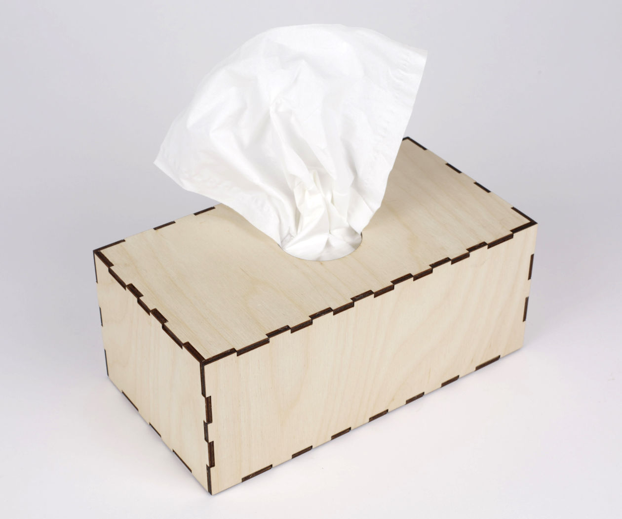 Tissue Box Cover From Web App