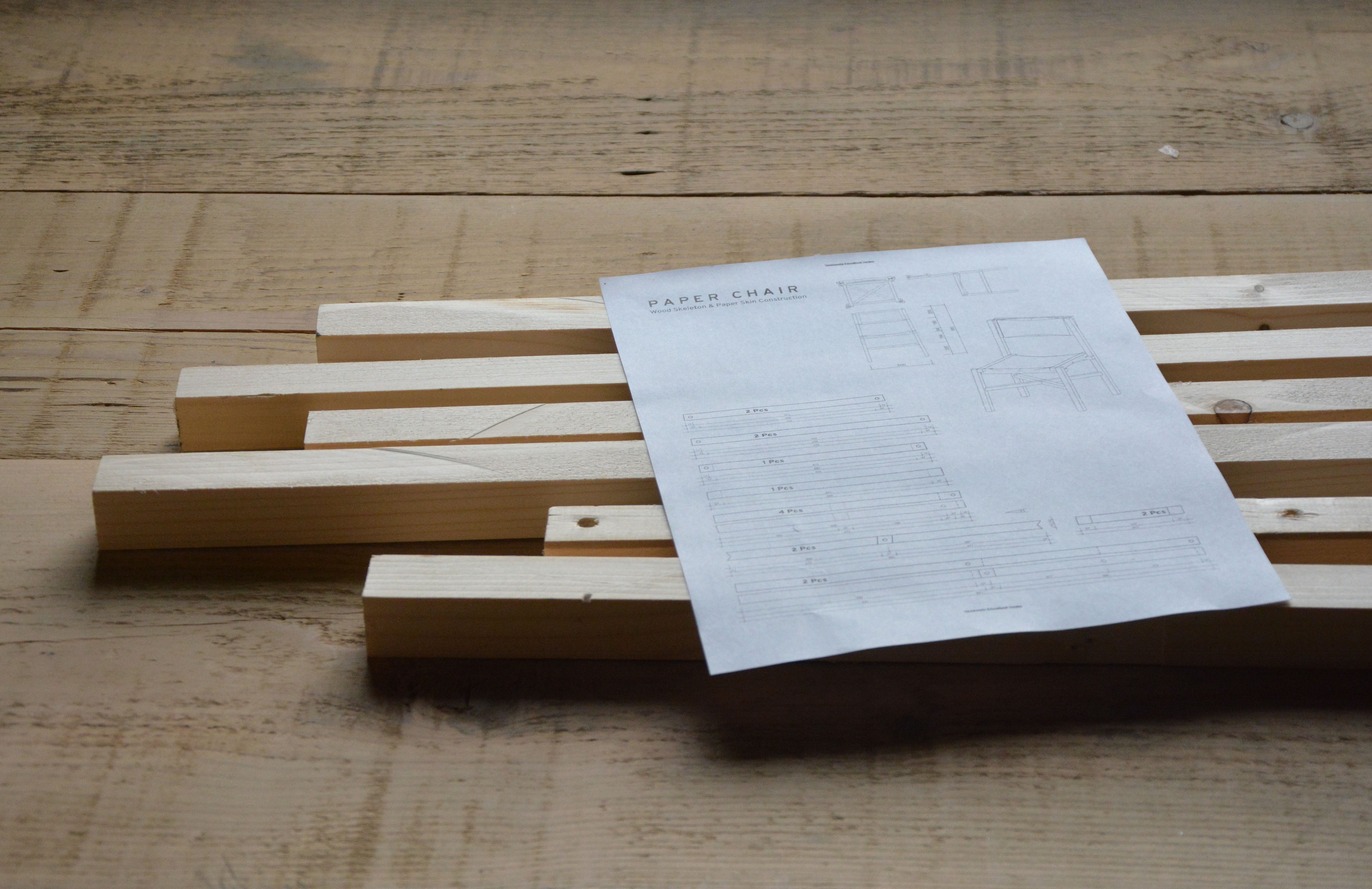 Picture of Start Preparing the Wooden Parts