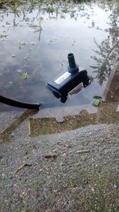 Set Up the Water Pump/Motor