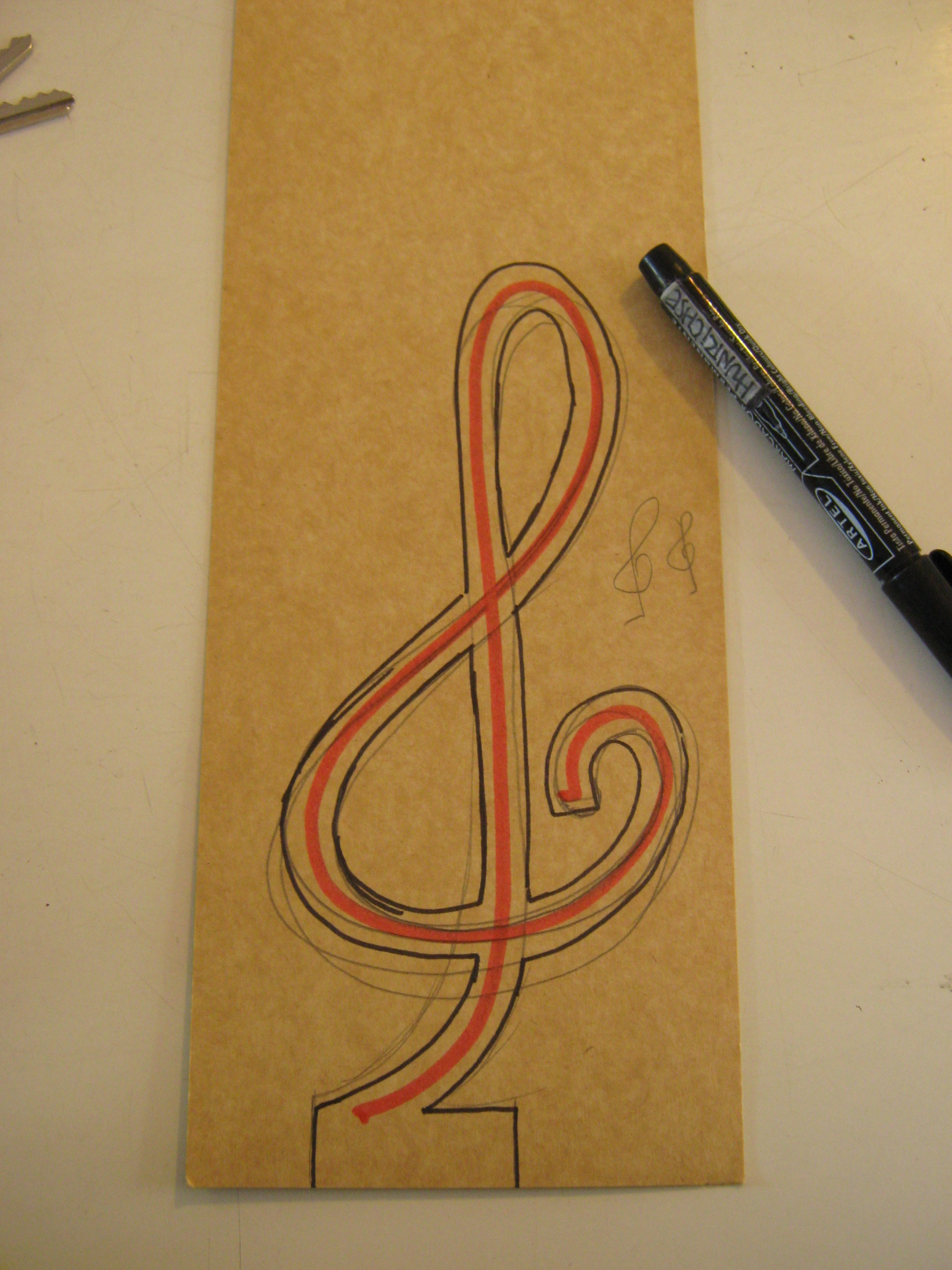 Picture of Draw a Key Symbol