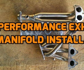 Exhaust manifold replacement (Honda Civic 1999 D15B engine and EK3 Chassis)!