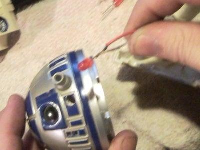 Prep R2's Head