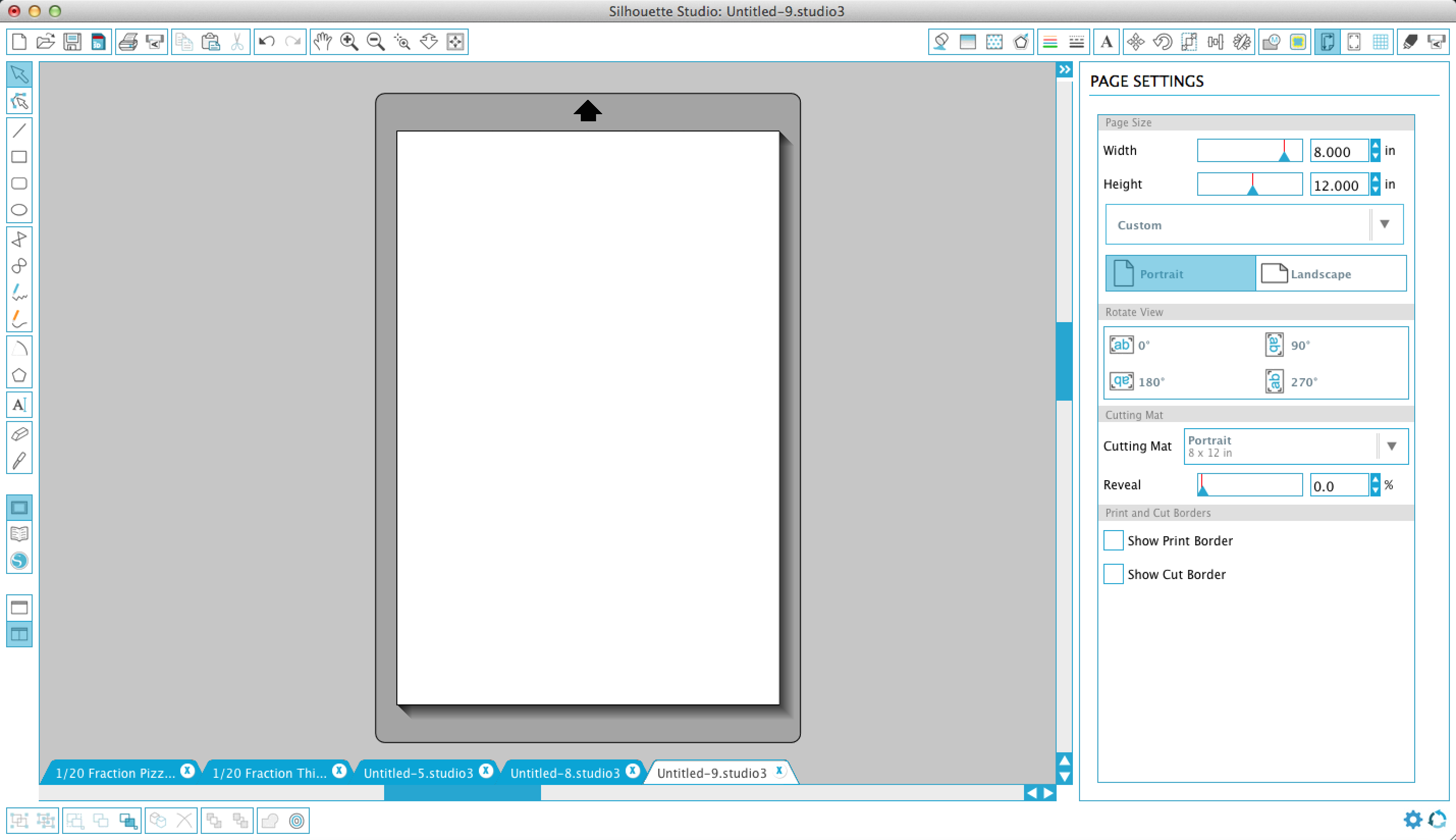Picture of Creating the Silhouette Studio File