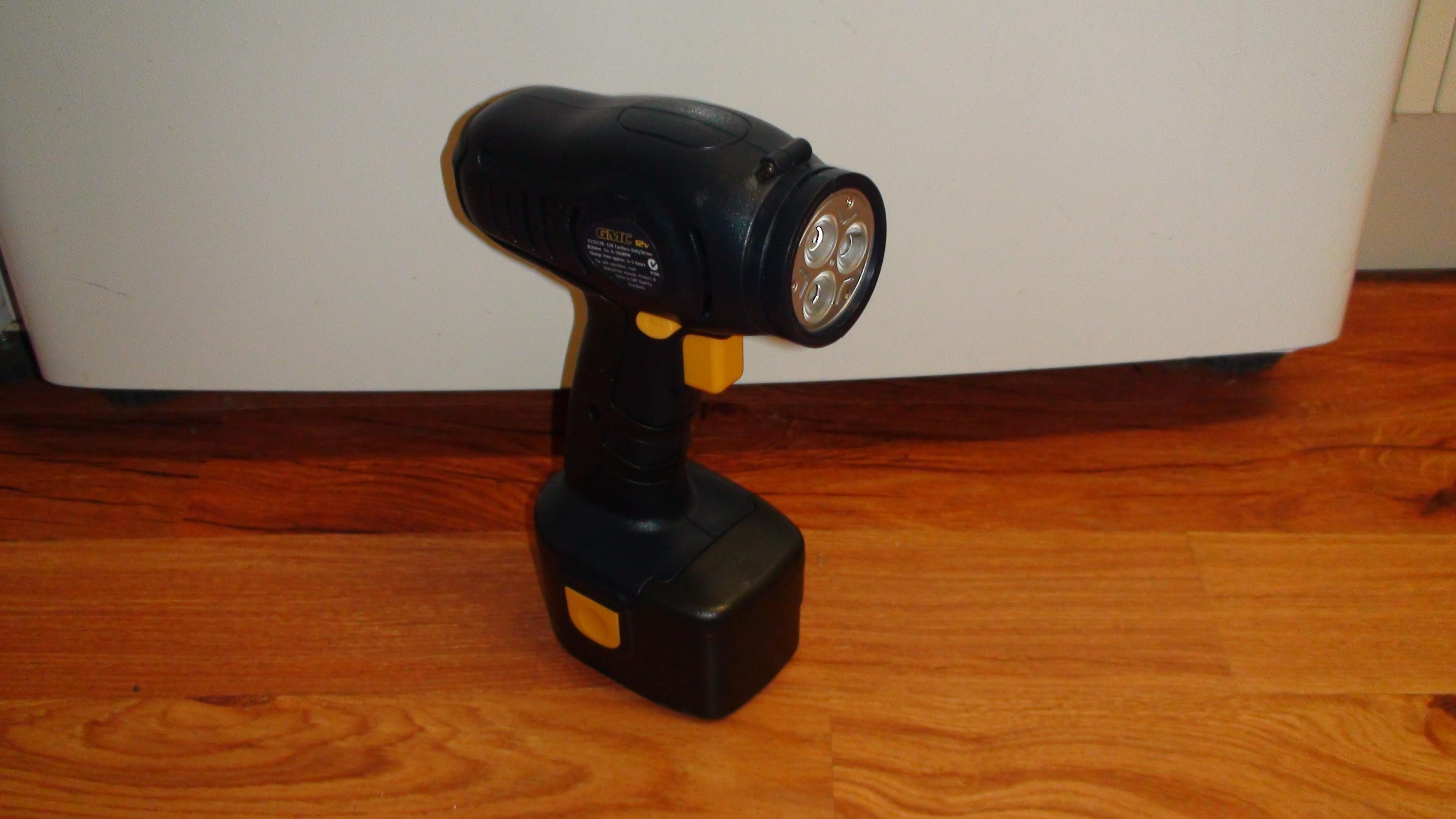 Picture of Cordless Drill Rechargable LED Spotlight