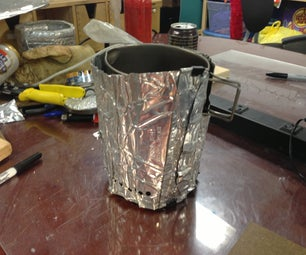 Windscreen for Beverage Can Camp Stove
