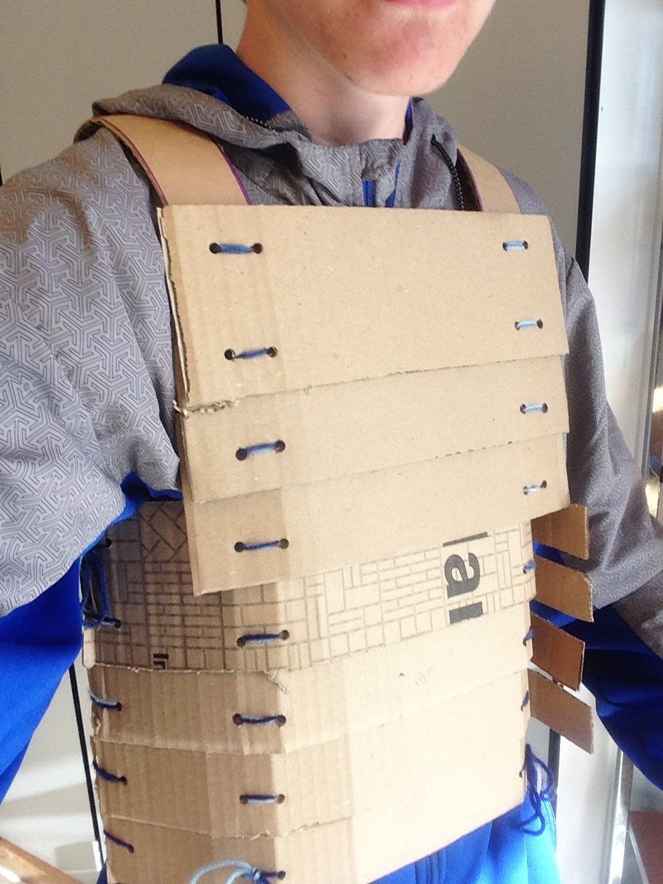 Picture of Cardboard Samurai Armor