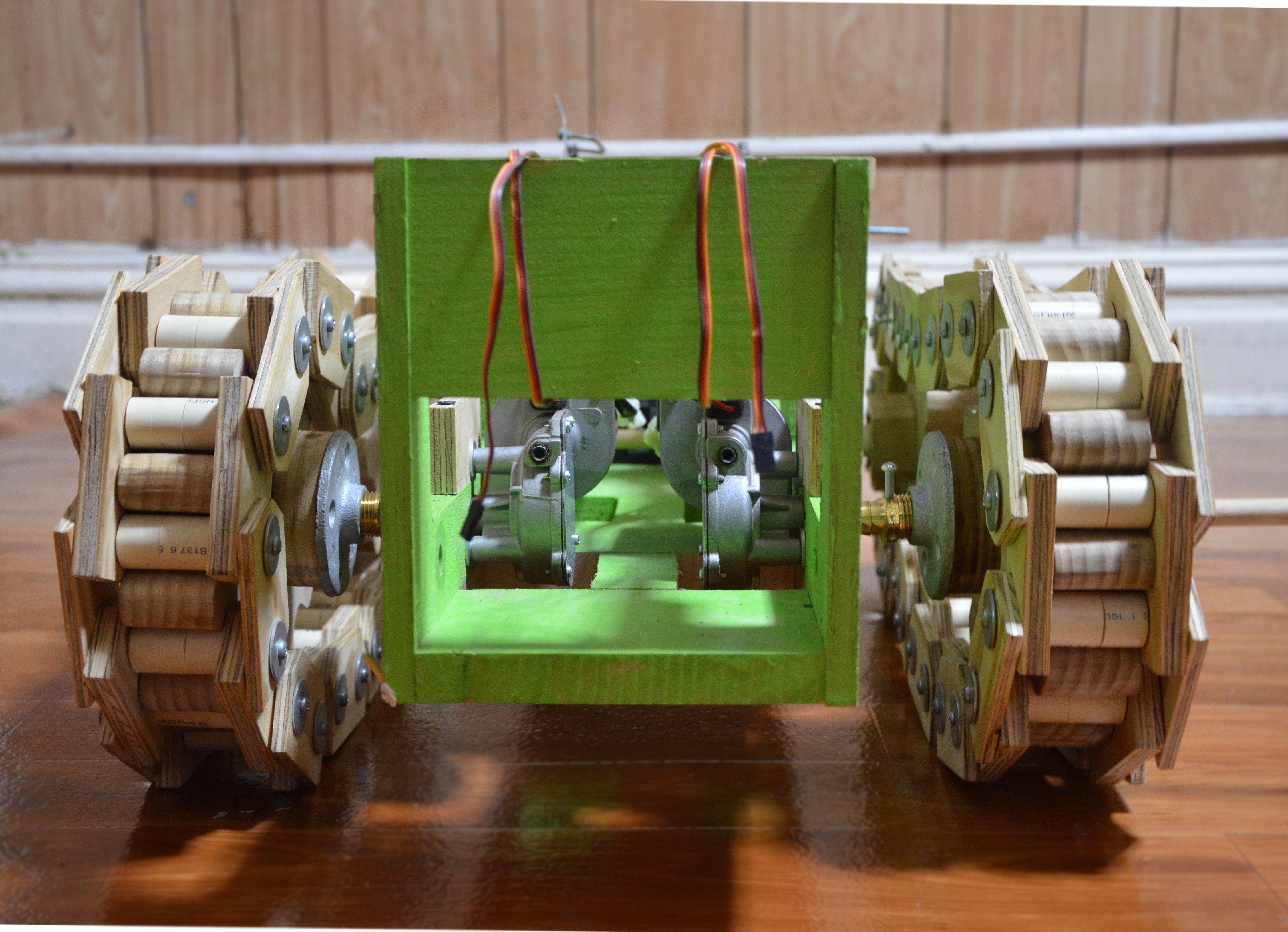 Picture of Robot Tank Made From Scratch