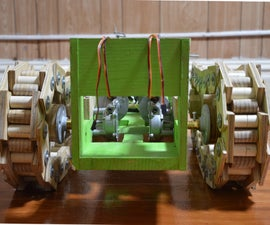Robot Tank Made From Scratch