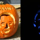 The Barack O Lantern- Pumpkin Powered Political Statement (With LEDs)