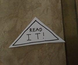 How to Make a Saying Corner Bookmark