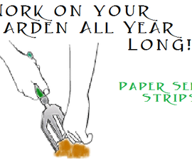 Garden All Year Long With Recycled Paper Seed Strips!