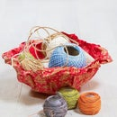 Easy Fabric Bowls