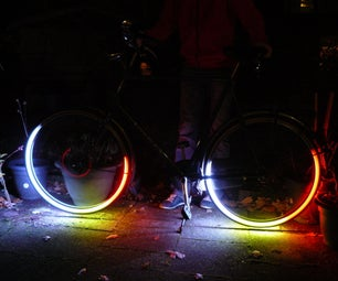 RGB Bicycle Rim Lights