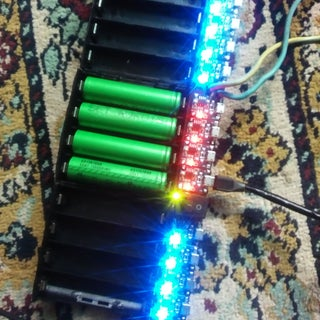 DIY 18650 Lithium Ion Cells Charging Grid
