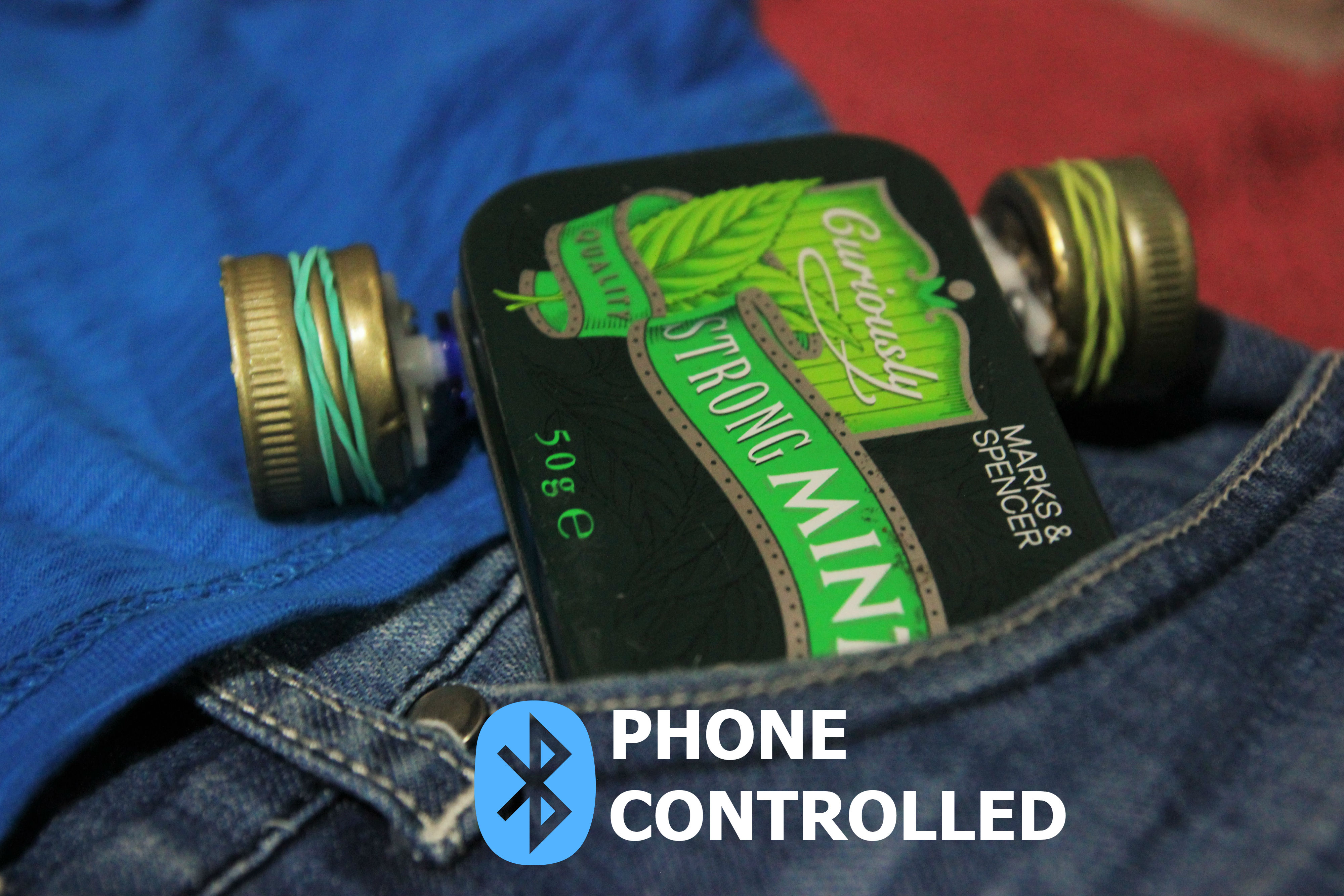 Picture of Tin Box Phone-Controlled RC Car