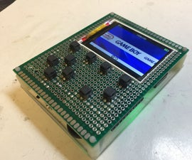 Homemade Odroid-go Compatible Game Console