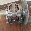Wiring clothes dryer (tumble dryer) motor