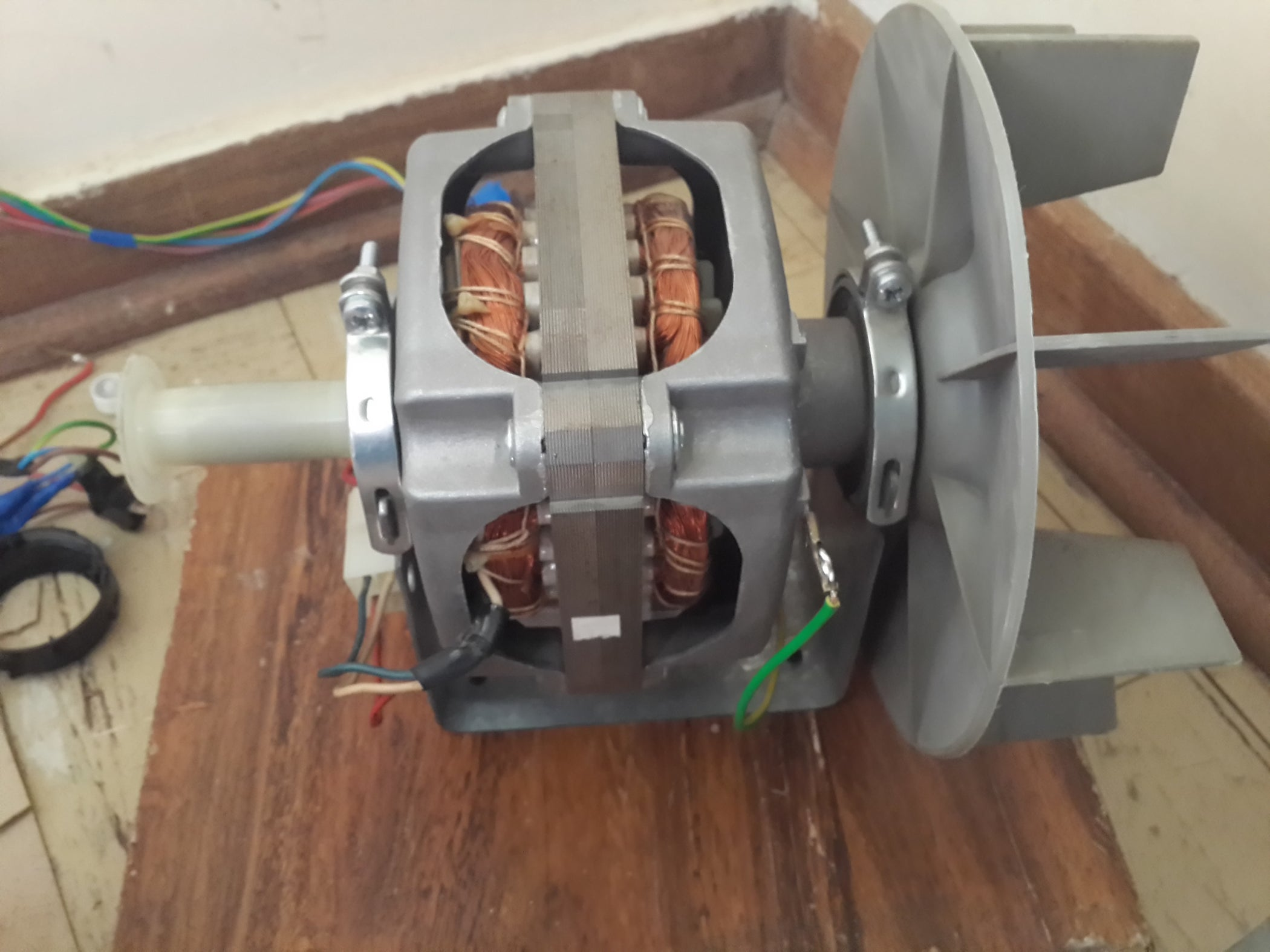 Wiring Clothes Dryer (tumble Dryer) Motor : 3 Steps on