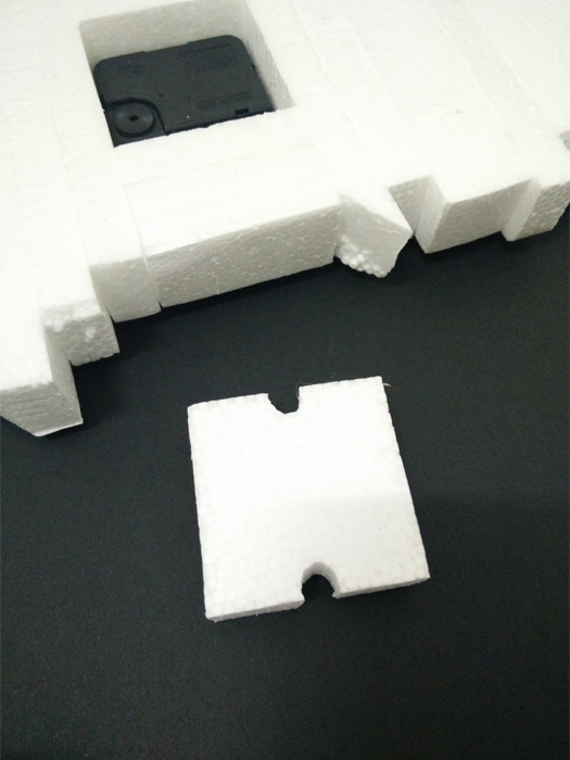Picture of Glue the Polystyrene Cuboids