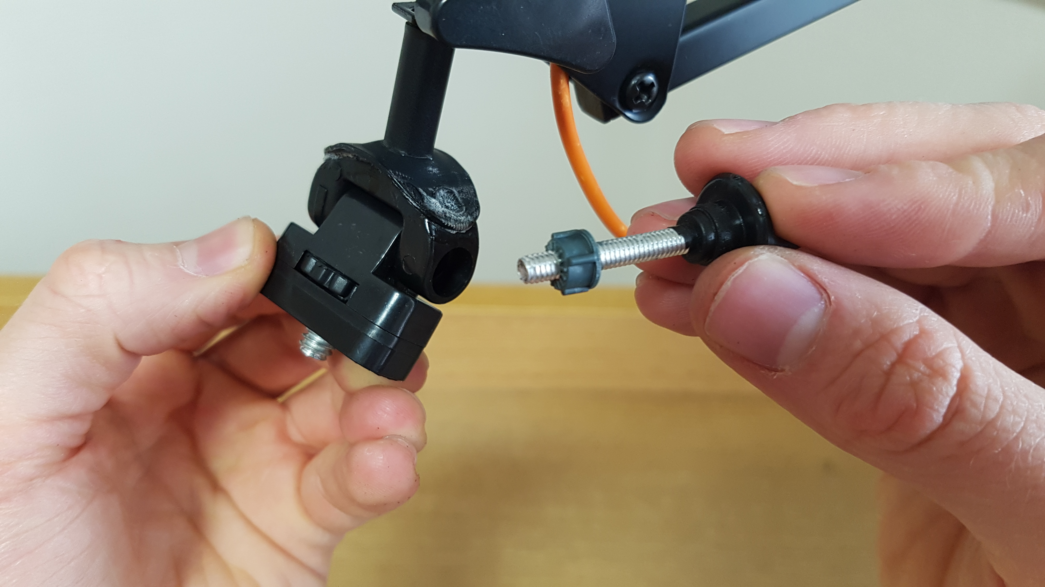 Picture of Reconstruct and Attach the Modified Lamp Joint