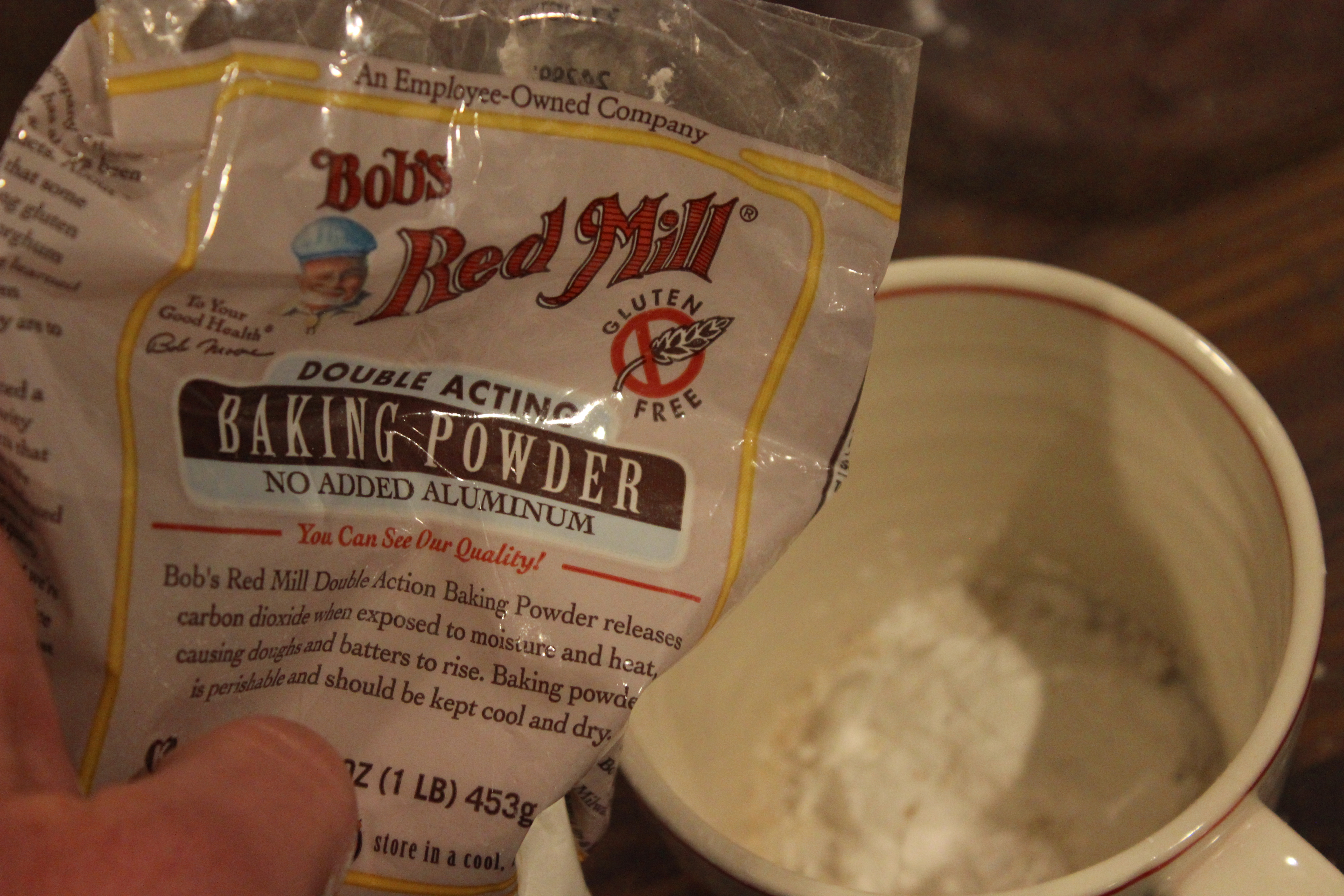 Picture of Add Baking Powder