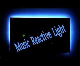 Music Reactive Light  How to Make Super Simple Music Reactive Light for Making Desktop Awsome.
