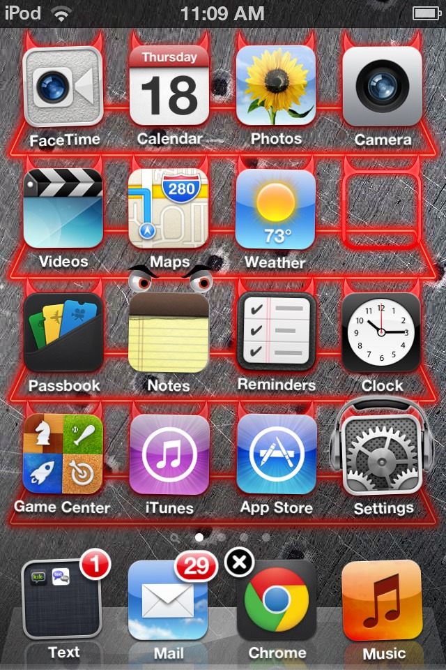 Picture of How to Glitch an App on the Home Screen