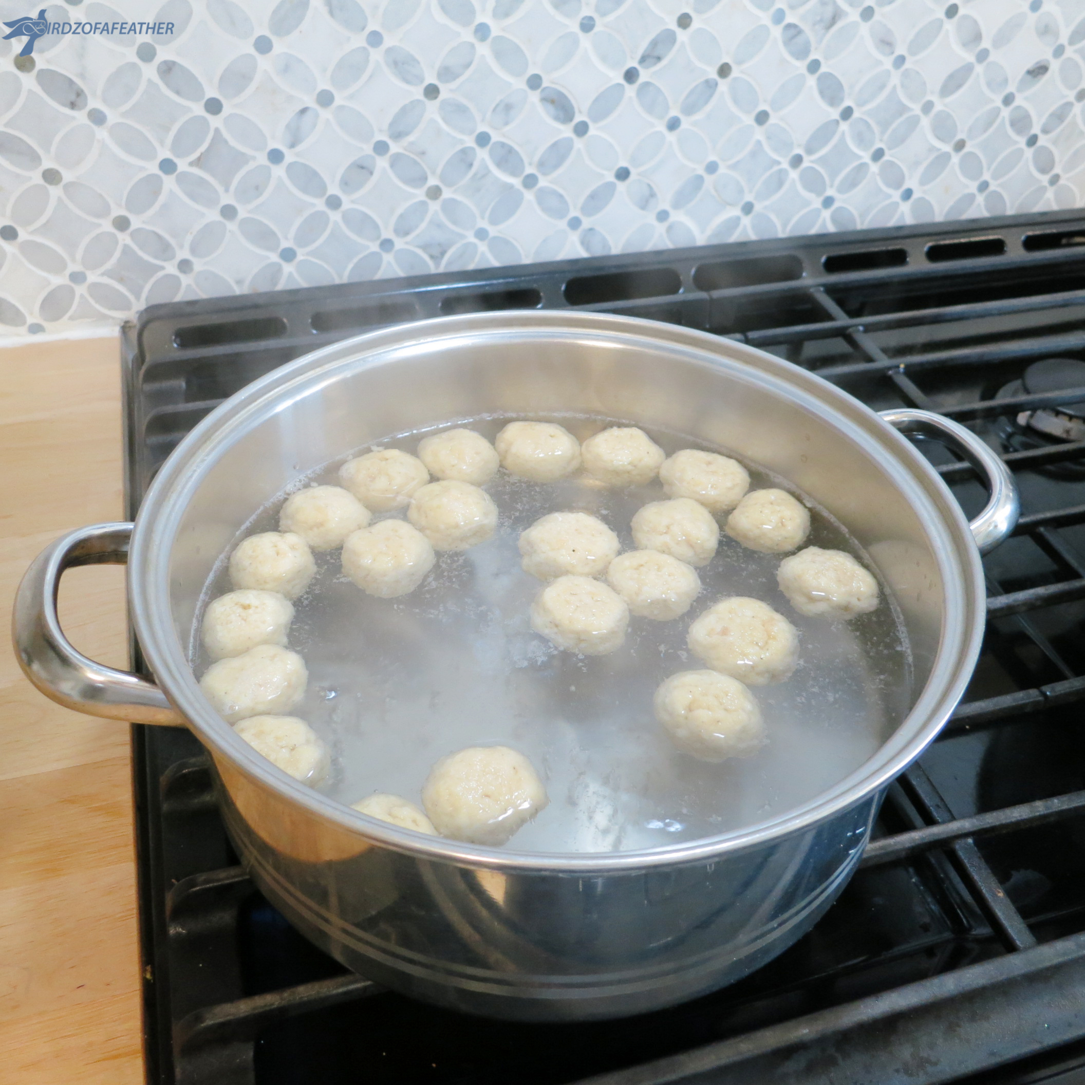 Picture of Cooking the Matzo Balls