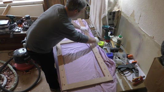 Finishing the Easel