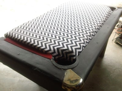 Pool Table Bench