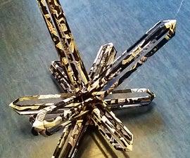 Origami Crystal Sculpture