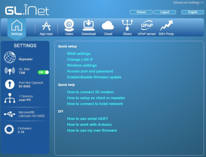 Picture of OpenWrt - a Linux Distribution for Your Router